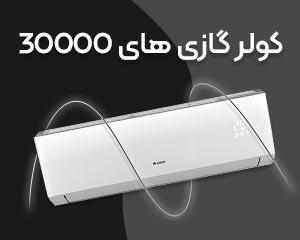 کولر گازی 30000