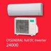 کولر گازی اجنرال فول دیسی اینورتر پلاس 24000